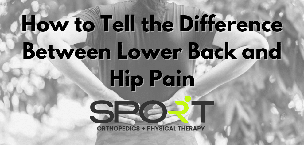 low back and hip pain